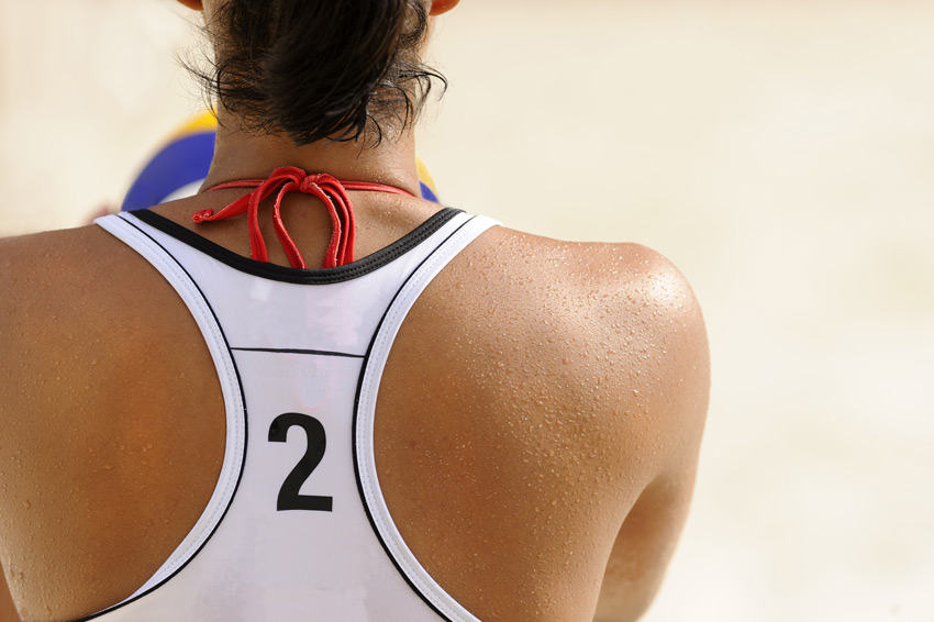 Beach Volleyball Image