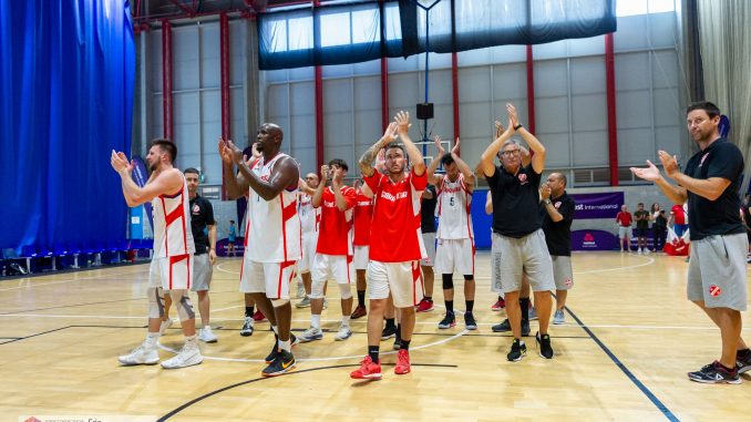 Gibraltar's basketball team suffer semi-final heartache