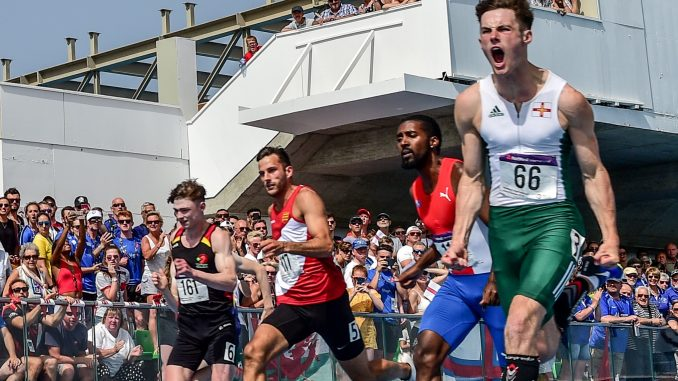 Guernsey's Chadwick 'ecstatic' after Island Games 100m gold
