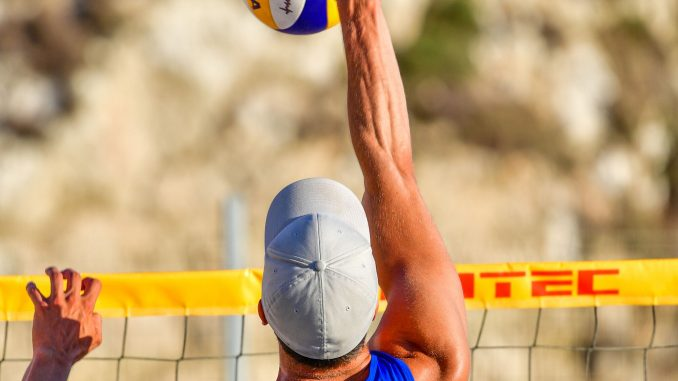 Åland's men win 'Battle of the Baltics' in beach volleyball